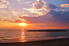 Presque Isle - Erie, PA has some of the best sunsets anyone has ever seen.  the best sunsets, we don't leave the beach until we watch the sun go down, we do that every evening on vaca!!