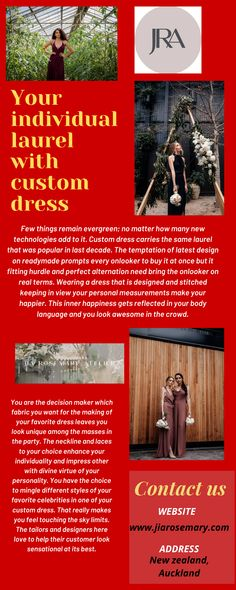Custom dress is something you can create design in your old expensive bridal outfit. Give chance to us for making your outfit in a glamorous look. With best fabrics and innovating designs.