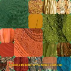 Farben für den Frühling-Herbst-Mischtyp - Trendfarben 2015/16 # Farb- und Stilberatung mit www.farben-reich.com