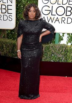 Plus size celebrities at the Golden Globes 2016