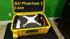 DJI Phantom 3 Case - Waterproof & Ruggedized Phantom 3 Case