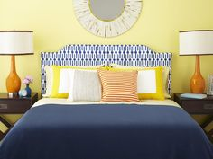 How to Upholster a Headboard | Bedroom Decorating Ideas for Master, Kids, Guest, Nursery | HGTV