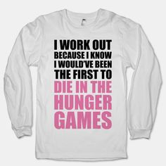 Hunger Games Workout Shirt