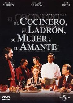 El Cocinero, el ladrón, su mujer y su amante [Vídeo-DVD] / written and directed by Peter Greenaway ; produced by Kees Kasander