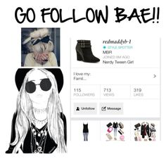 """""""GO FOLLOW HER!!!❤️❤️❤️❤️❤️❤️❤️❤️❤️❤️❤️❤️❤️❤️❤️❤️❤️❤️❤️"""" by morganrichards ❤ liked on Polyvore featuring beauty"""