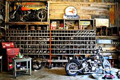 More Antique Motorcycle Garages… « 365 degrees, photos from each day