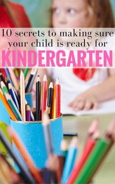 10 Ways to Help Get Your Child Ready for Kindergarten