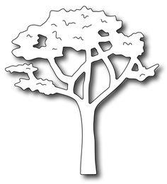 Frantic Stamper Precision Die - Lovely Leafy Tree,$7.49