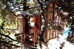 Regardez ce logement incroyable sur Airbnb : Magnifique cabane dans les arbres à Huétor de Santillán