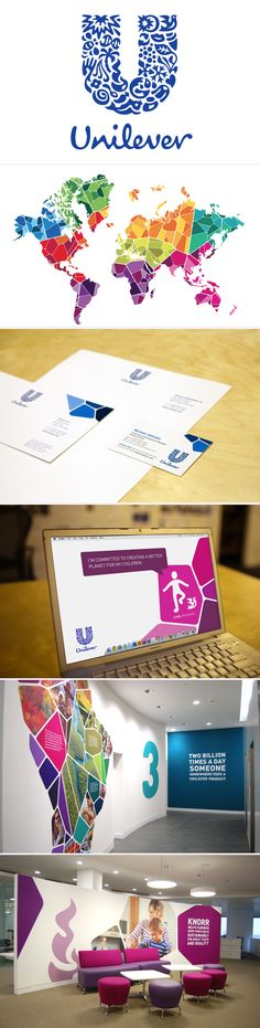 visual ID / unilever | #stationary #corporate #design #corporatedesign #logo #identity #branding #marketing <<< repinned by an #advertising agency from #Hamburg / #Germany - www.BlickeDeeler.de