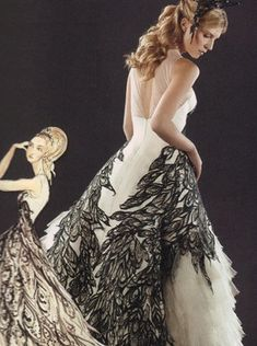 I loveeee this dresss!  Fleur Delacour's wedding dress