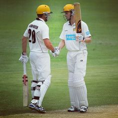 Shaun Marsh (84) & Adam Voges (72) combined for a 162-run fourth wicket stand yesterday #BupaSS #QLDvWA