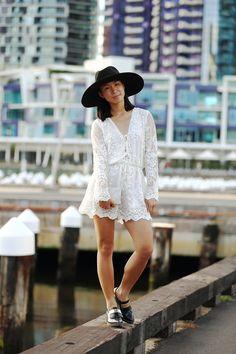 Melbourne Fashion, Street Fashion, Panama Hat, Tumblr, Lace, Instagram, Tops, Women, Urban Apparel