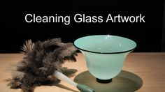 How to Clean Glass Artwork Bernard Katz gives some tips to consider to help prevent possible damage while cleaning hand blown glass art. http://bernardkatz.com/cleaning-glass-artwork/