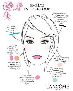 In Love Face Chart #belk #beauty