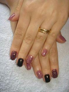 #Nails #decorada #Carimbada com Tania-Manicure /Pedicure e Depilação.