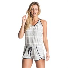 Roxy Always Waves Romper Roxy, Pants For Women, Clothes For Women, Rip Curl, Swimsuits, Swimwear, Jumpsuits For Women, Romper, Waves