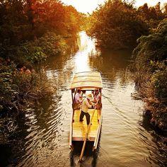 boat ride in Hangzhou