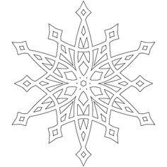 Don't Eat the Paste: A half dozen snowflakes to color