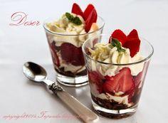 TAPENDA Przepisy Kulinarne na każdy dzień: Deser truskawki&mascarpone&amaretti