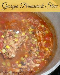 Georgia Brunswick Stew Recipe  |  whatscookingamerica.net