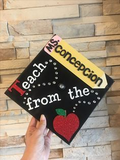 Teacher graduation cap
