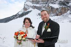 Peak Photography: Lake Louise Wedding Photographer - Rosie & Brad, Sleigh Ride Wedding