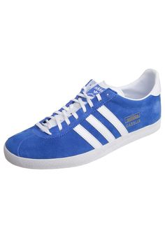 adidas Originals - GAZELLE OG - Baskets basses - bleu