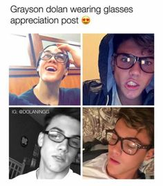 What I mean when I say I like boys with glasses | Pinterest: @Avaviolet✨