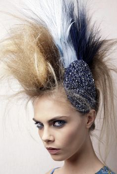 chanel haute couture hair 2012