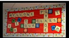 Eureka Scrabble Welcome theme!