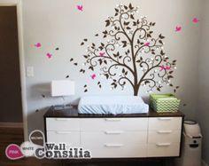 Baby Nursery muur stickers bloesem boom Decal door WallConsilia