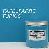 COLORFARBE PRO Tafelfarbe Türkis matt #COLORFARBE #Tafelfarbe