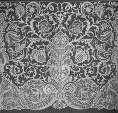 Queen Victoria ordered her lace made in Honiton in the UK, ...native made lace, and Victoria insisted that all her children use Honiton as trimmings in their weddings as well.