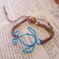Wire Turtle Bracelet/Necklace on Etsy, $12.00