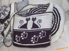 CARAMELO DE CROCHET: bolsas de gatitos