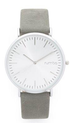 Pretty grey wrist watch