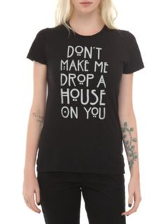 American Horror Story: Coven Drop A House Girls T-Shirt ($16.88-22.50) - Hot Topic