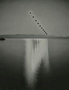 'Sunburn' photography by Chris McCaw.