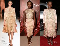 Lupita Nyong'o In Elie Saab Couture – 2014 Palm Springs International Film Festival Awards Gala