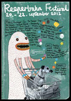 reeperbahn festival / zeit best posters