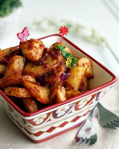 I love Spanish tapas, and one of my favourite tapas dishes is Patatas Bravas (wild potatoes), orspicy potatoes. It is apparently one of th...