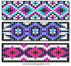 Native American Loom Beading Patterns Free Non Beading Patterns Free, Seed Bead Patterns, Peyote Patterns, Weaving Patterns, Jewelry Patterns, Loom Bracelet Patterns, Bead Loom Bracelets, Native Beadwork, Native American Beadwork
