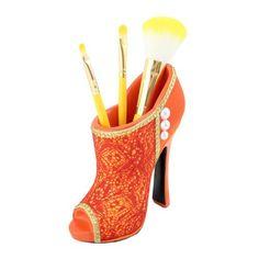 "Cosmopolitan Boot Brush Holder 5""""""""X5.1""""""""X2"""""""" Orange"