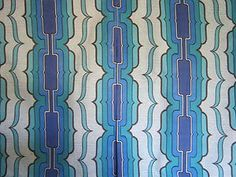 STUNNING PAIR OF 1970S VINTAGE GEOMETRIC CURTAINS,IDEAL FOR BEACH HUT/CARAVA | eBay ONLY £25.00