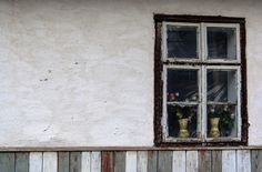 Old house, new flowers by Beniamin Sabo Fine Art, Flowers, House, Painting, Home, Haus, Painting Art, Paintings, Visual Arts