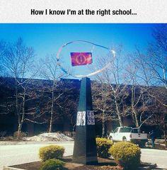 Definitely At The Right School