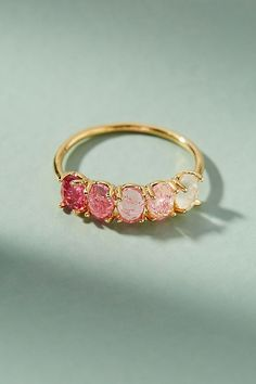 Slide View: 2: Ombre Birthstone Ring