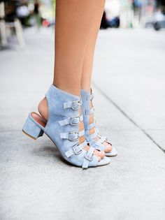 Hotness via Jeffrey Campbell x Free People Lou Lou Block Heel at Free People Clothing Boutique