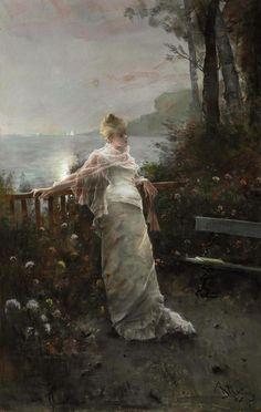 Alfred Stevens. Belgian (1823–1906)